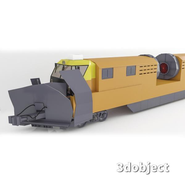 3d модель машины ПОМ и СДПМ_4