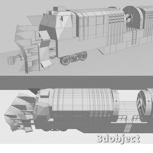 3d модель машины ПОМ и СДПМ_5
