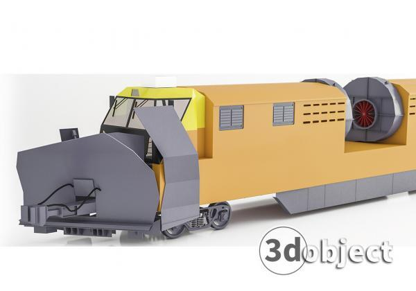 Моделирование поезда в 3d max