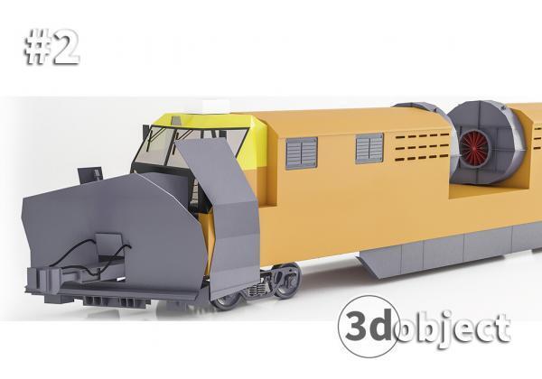 Моделирование поезда в 3d max #2
